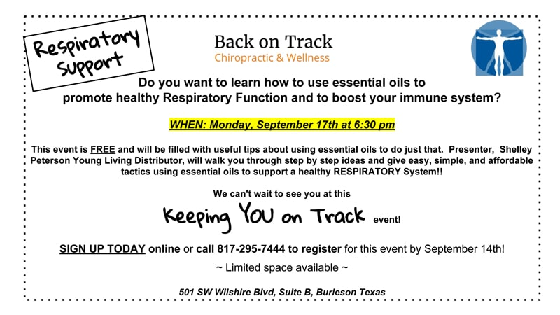 Chiropractic Burleson TX Upcoming Events